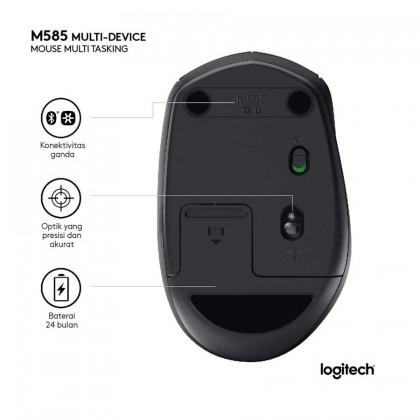 Logitech M585 Multi-Device Wireless Bluetooth Mouse