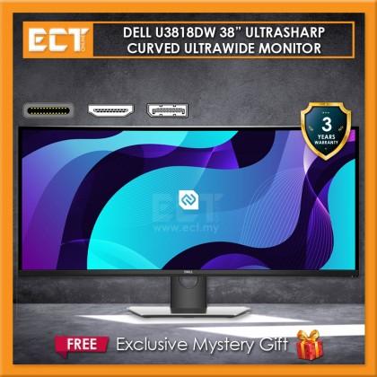 "DELL U3818DW 38"" 4K UltraSharp Curved USB-C (3840x1600) 8MS IPS LED Monitor"