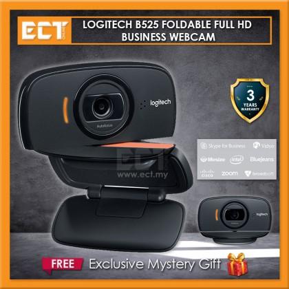 Logitech B525 Foldable FHD Autofocus Business Webcam (960-000841)