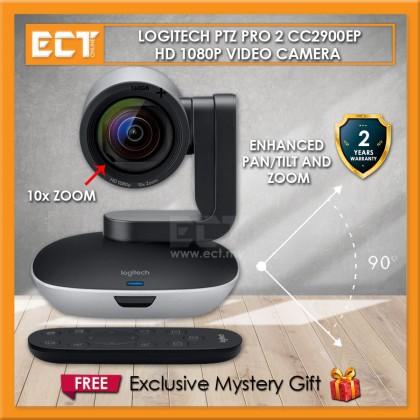 Logitech PTZ Pro 2 CC2900EP HD 1080p Video Camera Webcam with Enhanced Pan/Tilt and Zoom