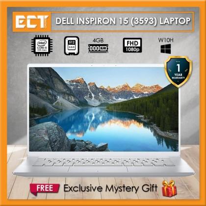 """Dell Inspiron 15 3593 Multimedia Laptop (i5-1035G1 3.60GHz,512GB SSD,4GB,15.6"""" FHD,W10)"""