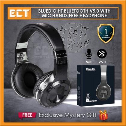 Bluedio HT Turbine Bluetooth Wireless V5.0 with Microphone Headphone Headset