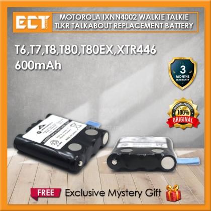 Motorola IXNN4002B TLKR TalkAbout Walkie Talkie Replacement FRS Battery for T6,T7,T8,T80,T80EX,XTR446