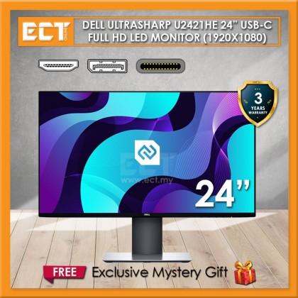 """Dell U2421HE 24"""" FHD UltraSharp USB-C (1920 x 1080) 5MS IPS LED Monitor"""