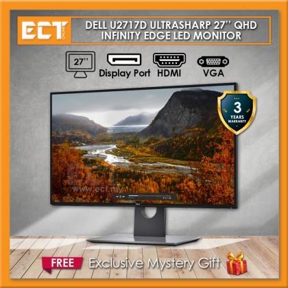 "Dell U2717D UltraSharp 27"" QHD InfinityEdge LED Monitor (2560 x 1440)"