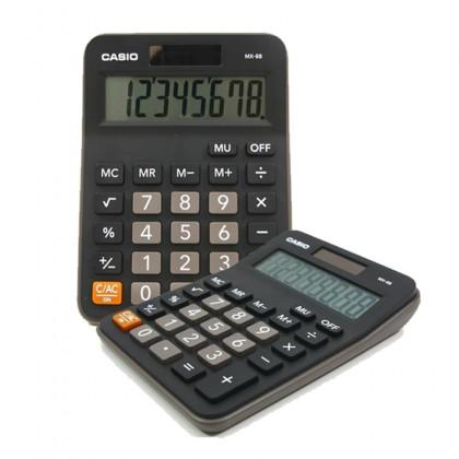 Genuine Casio MX-8B 8 Digits Electronic Value Calculator - Black