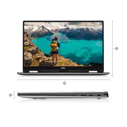 "Dell XPS 13 (9365) 2 in 1 Ultrabook (i5-7Y57 3.30GHz,256GB SSD,8GB,13.3"" QHDTouch,W10P)"