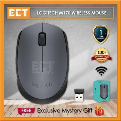 Logitech M170 Wireless Mouse - Black